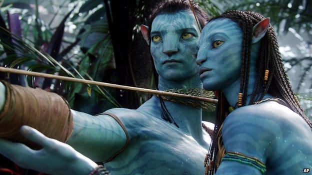 The movie Avatar