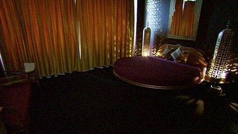 A room at Paradise