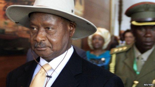 Yoweri Musveni - 30 January 2014