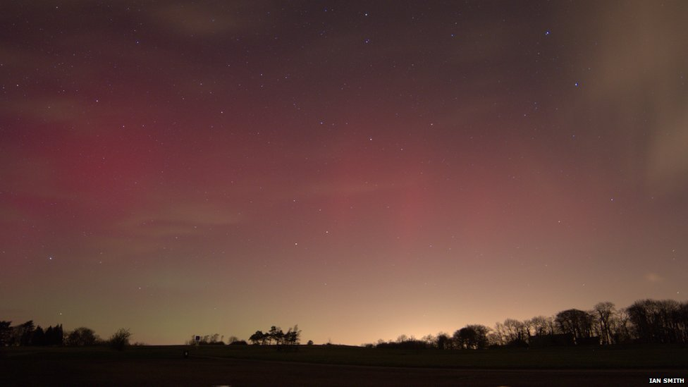 Northern Lights in Gloucestershire