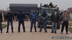 Belbek base, Ukraine