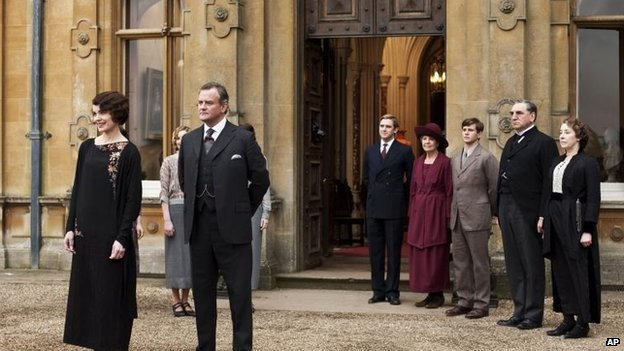 Downton Abbey filming