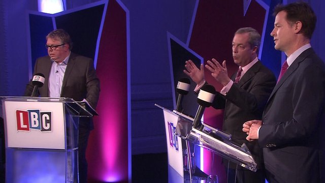 farage clegg europe debate