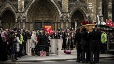 Benn's Funeral