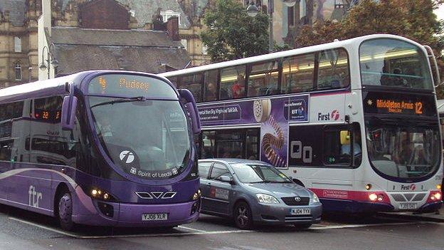 Generic buses in Leeds