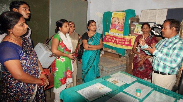 Meeting of Aaganvadi workers