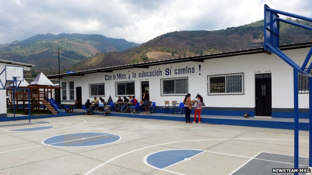School near San Rafael which has received funding from Tahoe