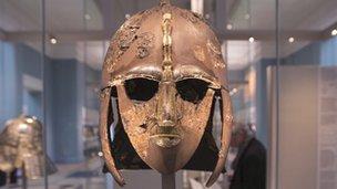 Sutton Hoo helmet