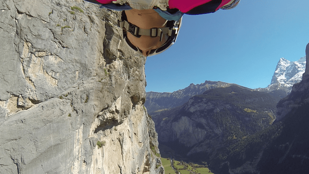 View of base jump