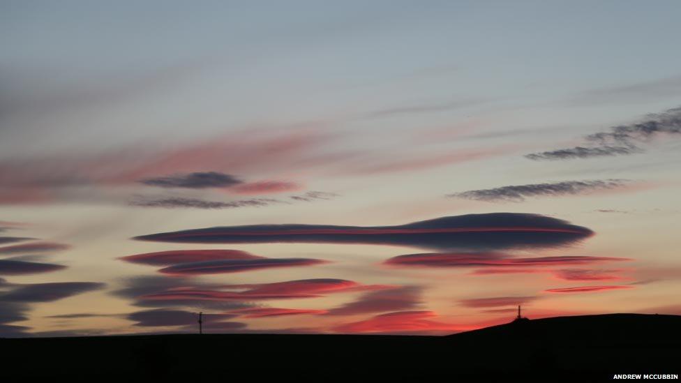 Clouds above Kinglassie, Fife