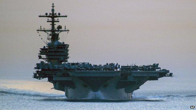 USS George HW Bush (file photo)
