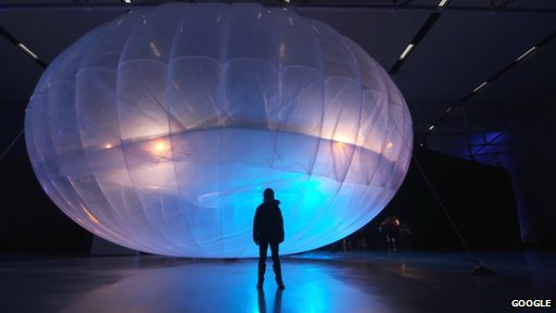 Project Loon wi-fi balloon