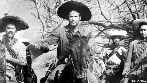 Eli Wallach (centre) in The Magnificent Seven