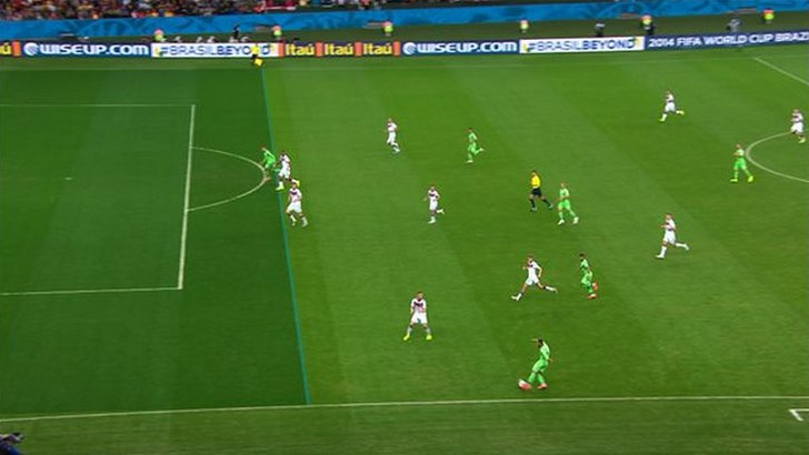 Offside decision