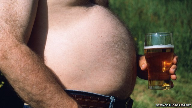 Drinking too much alcohol can contribute to obesity