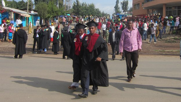Graduate at Ambo University in Ambo, Ethiopia