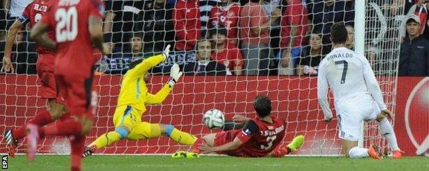 Ronaldo scores the opener for Real Madrid