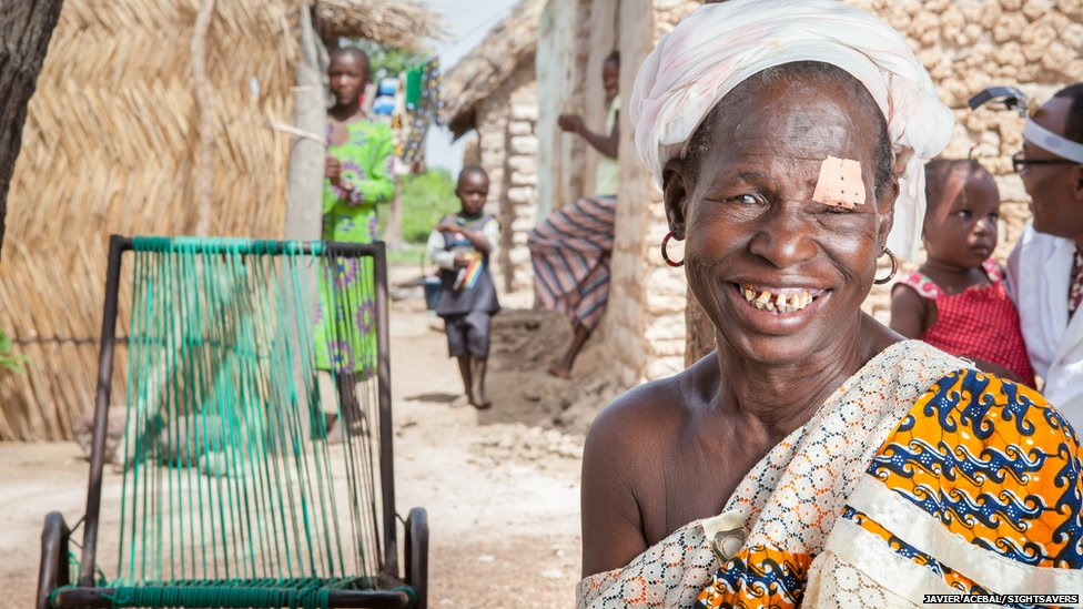 Kany Doumbia in N'Korobougou, Mali