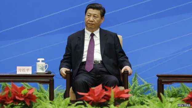 File photo: China's President Xi Jinping, 28 June 2014