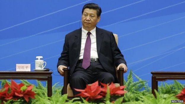 File photo: China's President Xi Jinping, 28 June 2014