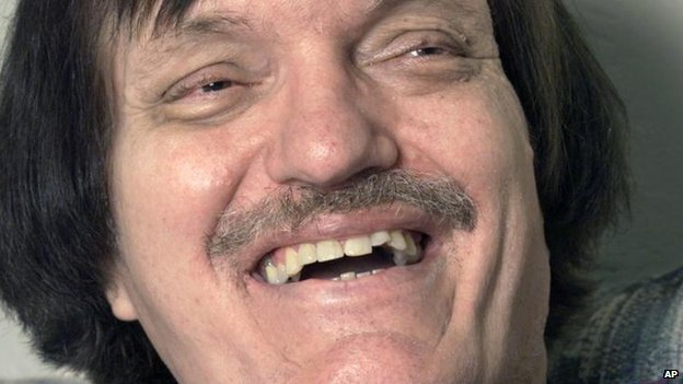 Richard Kiel,  May 2000