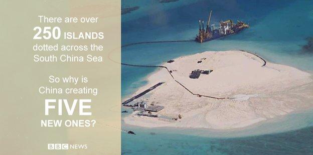 China new island