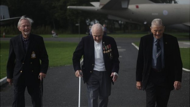 Left to right: Lawrence Toft, Jim Mckenzie-Leith, David Lambert.
