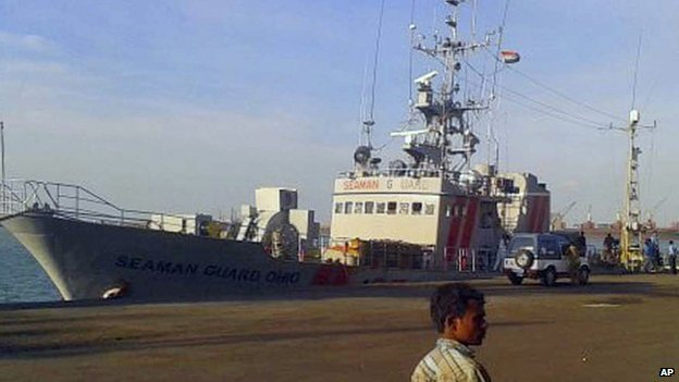 MV Seaman Guard Ohio
