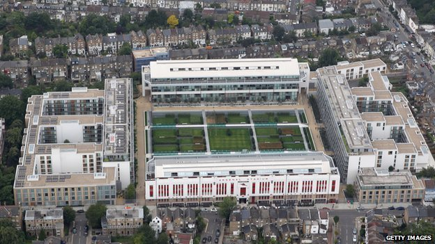 Old Highbury ground site