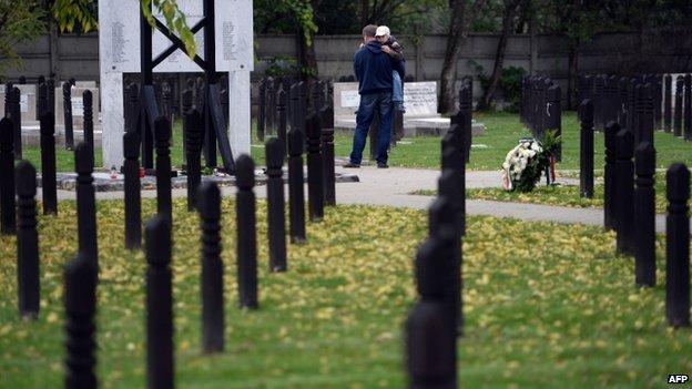 Koztemeto cemetery in Budapest (23 Oct)