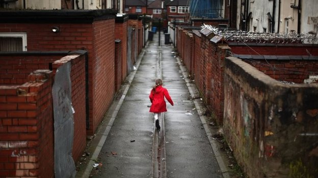 Gorton area of Manchester