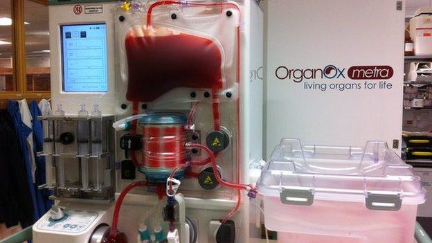 Liver machine
