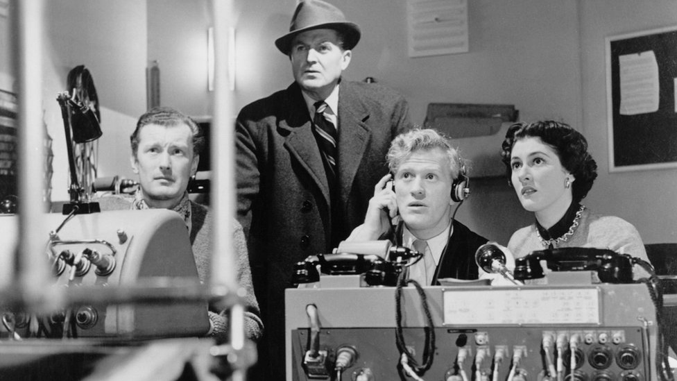 A scene from The Quatermass Experiment (1955) - Leicester Hammer Horror Archive