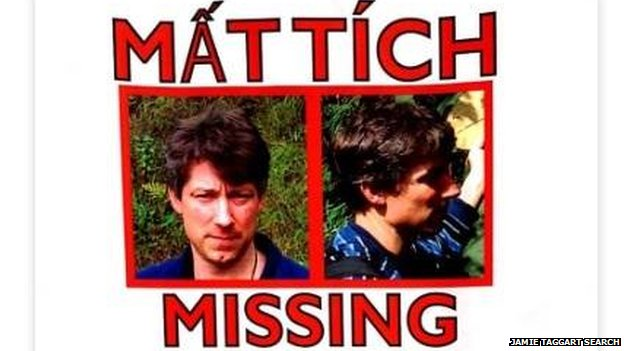 A missing poster