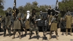 A screen grab from a video released by Boko Haram, showing its leader Abubakar Shekau delivering a speech - 31 October 2014