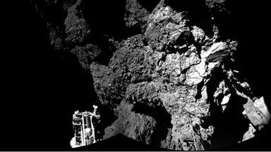 comet 67P up close