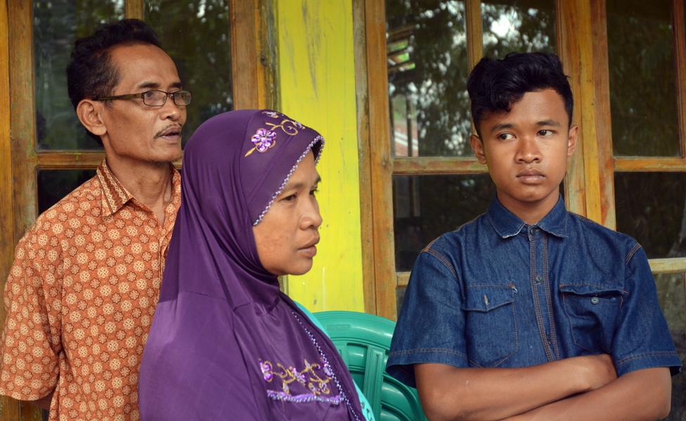 Sumarti's family