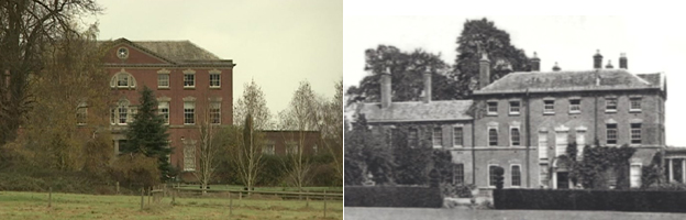 St Gilbert's house now and then