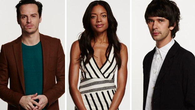 Andrew Scott, Naomie Harris and Ben Whishaw