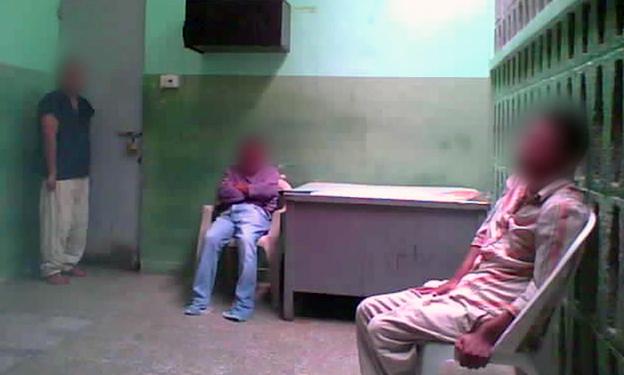 Hospital patients in ward