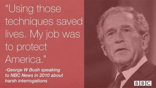 George W Bush qupte