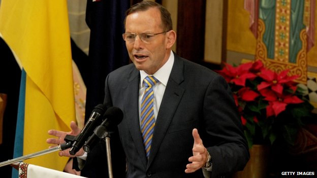 Australian PM Tony Abbott. Photo: 11 December 2014