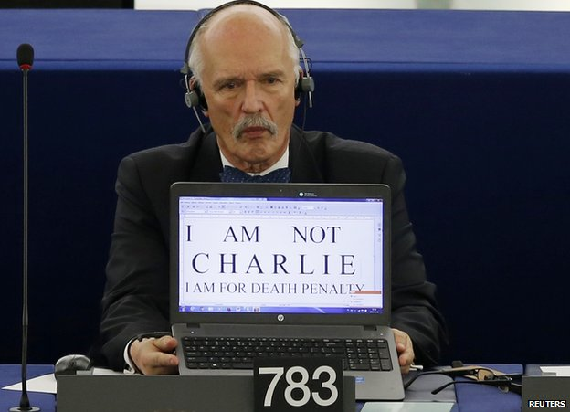 Right-wing Polish MEP Janusz Korwin-Mikke