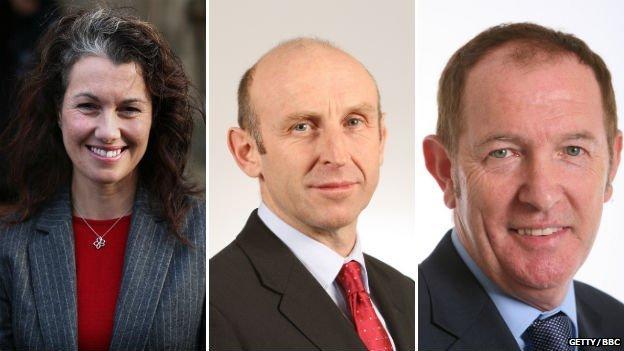 Sarah Champion MP, John Healey MP and Kevin Barron MP