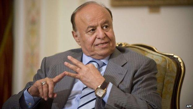 Yemeni President Abdrabbuh Mansour Hadi (April 2013)