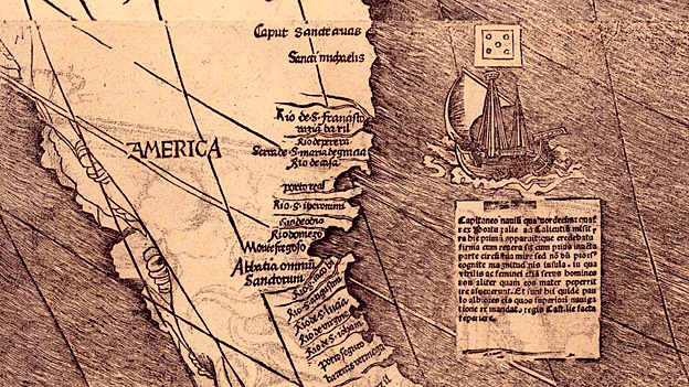 Waldseemuller World Map