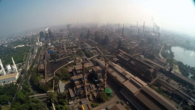 Tata Steel at Jamshedpur