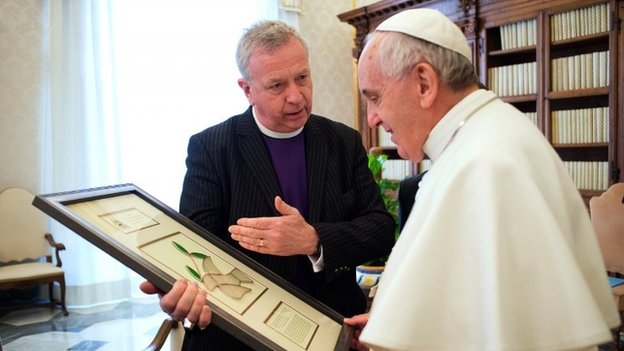 Moderator and Pope