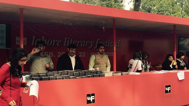 Lahore Literary Festival stall