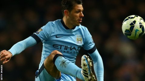 Manchester City defender Martin Demichelis